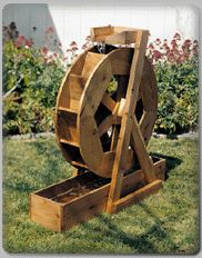 3 Water Wheel Plans