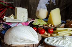 Greek Cooking, Greek Recipes, Feta, Camembert Cheese, Yogurt, Recipies, Food And Drink, Dairy, Nutrition