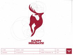 Happy Holidays - Logo Design
