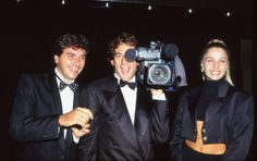 Ayrton Senna e a namorada Adriane Galisteu - Mônaco, 1993.