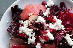 red salad (less the goat cheese for any vegans)