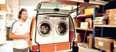 PRANCHRIS: Πλυντήριο ρούχων για άστεγους – Κυκλοφορεί σε ένα ...