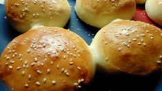Make amazing hamburger buns in your own kitchen. No special equipment needed. #bread #homemade #breadrecipe #baking