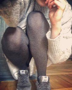 Стоит ли говорить, что серый -- цвет этого сезона 🏴🐀🔘 #knees #newbalance