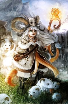 Chillout :: Lulu, the Poros Keeper