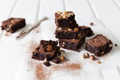 As a taster of things to come in The Art of Baking course hosted by Sarah Graham, here's her choca-blocka recipe for nutty double chocolate brownies.