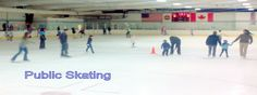 Come skate at one our many public sessions! Schedule is online at www.clearwatericearena.com