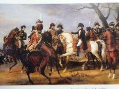 La diramazione degli ordini la mattina di Austerlitz