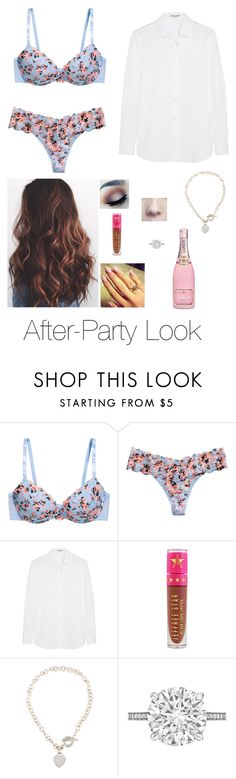 """After-Party Look"" by brenda-all-over ❤ liked on Polyvore featuring H&M, Yves Saint Laurent, Jeffree Star, Tiffany & Co. and Betteridge"