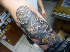 Owl Tattoo by Susie Humphrey