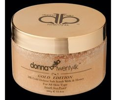 Donna Bella 24K Gold scrub Deluxe pick between pomegranate or milk and honey $20.00