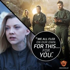 They risked everything… For the rebel cause. #Mockingjay