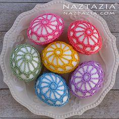Ravelry: naztazia's Crochet Lace Eggs