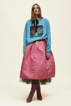 Long Sleeve Embroidered MTV Sweatshirt | Marc Jacobs
