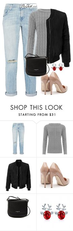 """""""PETTY"""" by faith-292 ❤ liked on Polyvore featuring Current/Elliott, WearAll, LE3NO, Rupert Sanderson and Lancaster"""