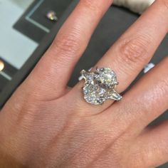 Visit To Kwiat New York - oval cut diamond engagement ring