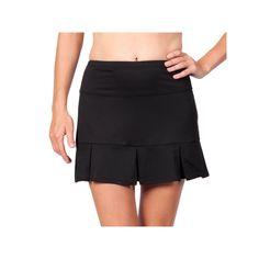 Women's Tail Doral Pleated Tennis Skort, Size: Large, Black