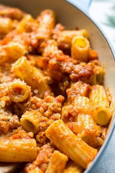This healthy, savory and quick to make Chicken Ragu Pasta is bound to become a favorite family meal. Enjoy this homemade comfort food in just half an hour. Ground Chicken Recipes Easy, Easy Pasta Recipes, Easy Dinner Recipes, Easy Meals, Cooking Recipes, Dinner Ideas, Dinner Reciepes, Meal Recipes, Turkey Recipes