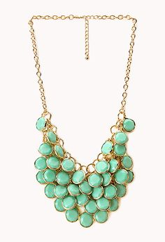 Dancing Hour Bib Necklace | FOREVER21 - 1000066318 - in black