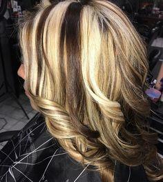 WEBSTA @ i_am_wickedhair - Chunky .. GK 5.99- hi's GK lightening powder 30v.. lock me color masque ..#hairbyjehn #wickedhairandnails #gkhair #gkchoiceofchampions #gkallday #hairinspiration #haircolor #hair #hairdresser #hairbrained_official #hairbrain #chunkyhighlights #blonde #lowlights @gkhair