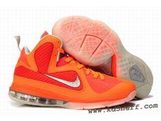 pretty nice e3e55 b28ce New Nike Zoom LeBron 9 Shoes Orange Red 2013 Cheap Nike, Nike Shoes Cheap,