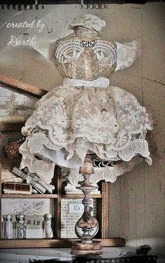 Shabby Chic Inspired  Love this handmade form!!!