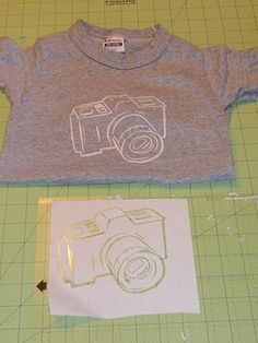 DIY Freezer Paper Stencil T-Shirt