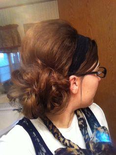 That's me! Apostolic hair.