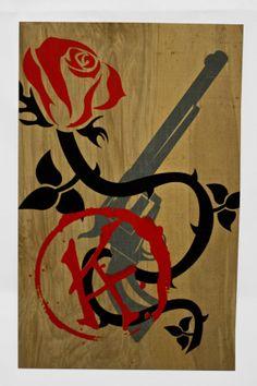 Dark Tower - Print on Wood Panel