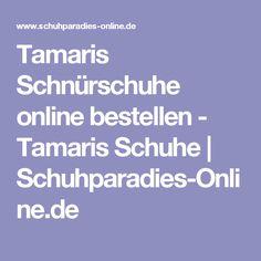 Tamaris Schnürschuhe online bestellen - Tamaris Schuhe | Schuhparadies-Online.de