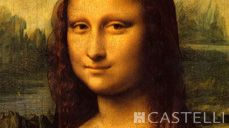 "11th Dec - On this day: Stolen in August 1911 from the Louvre, Paris the ""Mona Lisa,"" was recovered in Italy 1913 (Source: Castelli 2015 corporate diary/2015 diaries feature facts every day)"