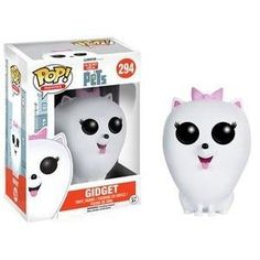 The Secret Life of Pets Gidget Pop! Vinyl Figure - Funko - Secret Life of Pets - Pop! Vinyl Figures at Entertainment Earth Disney Pop, Disney Pixar, Funk Pop, Pop Vinyl Figures, Funko Pop Dolls, Funko Toys, Pop Figurine, Pop Toys, Pop Characters