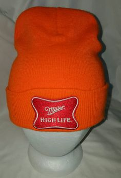 aaae732acddd8 Miller Beer Beanie Hat. Miller High LifePerfect Christmas GiftsBeanie HatsWinter  Hats