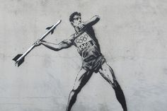 """BANKSY – """"Olympics""""