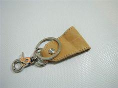 Leather Key Chain/ Leather Key Holder/ Key Chain Keeper by ASTAPIE, $8.00