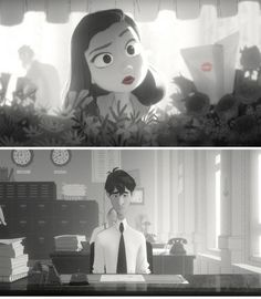 Paperman, one of the best animated shorts I've ever seen.