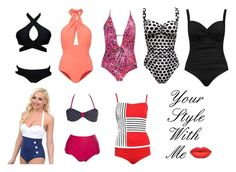 Swimsuits for apple body shape! by chris-georgiadou