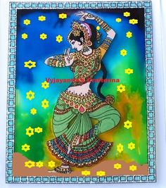 Reverse Glass Tanjore Painting