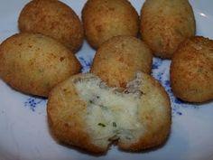 Croquetas de Pescado - Reciba recetas de cocina cubana semanalmente gratis- Comida cubana