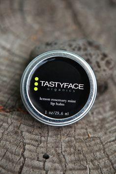 lemon rosemary mint lip balm