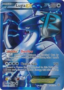 Lugia EX 134/135 - Pokemon Plasma Storm Full Art Ultra Rare Card