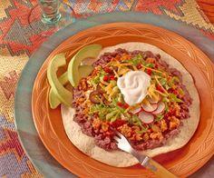 Tex-Mex Chicken Tostadas Recipe   Food Recipes - Yahoo! Shine