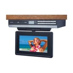 Small Kitchen Tv Dvd Combo Lcd Television Stereo Speakers Home Design Under Cabinet