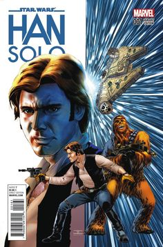 The roguish scoundrel leaps from the pages of Star Wars into his very own limited series. Writer Marjorie Liu and artist Mark Brooks will steer the Millennium Falcon as Han Solo sets off on a daring adventure in deep space. Han Solo has finally entered his ship into the Dragon Void Run – an infamous …