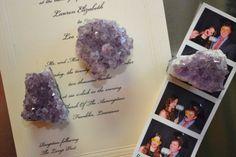 Set of (3) Purple Quartz Magnets