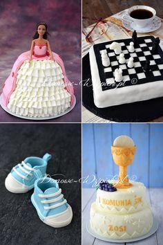 Biała masa cukrowa Cake Decorating, Cool Stuff, Children, Food, Narnia, Spaghetti, Food Coloring, Fondant Cakes, Fondant Decorations