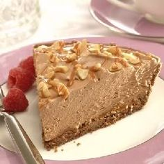 Peanut Butter Chocolate Cheesecake Pie - Can be done in 20 minutes.  Great to prepare if you have last minute visitors or if you are very busy.