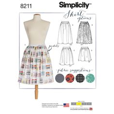 Simplicity Pattern 8211 Misses' Dirndl Skirts in Three Lengths – Janni L. Sørensen Simplicity Pattern 8211 Misses' Dirndl Skirts in Three Lengths Simplicity Pattern 8211 Misses' Dirndl Skirts in Three Lengths Skirt Patterns Sewing, Simplicity Sewing Patterns, Vintage Sewing Patterns, Skirt Sewing, Dirndl Skirt, Pants Pattern, Skirts With Pockets, Skirt Pants, Sewing Clothes