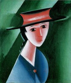 Capek 1915 Red Hat by calypsospots, via Flickr