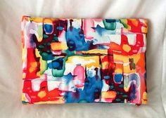 Pochette multicolore pochette femme arty grande par SUNSUELLE